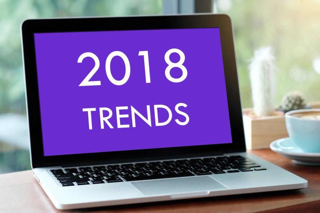 2018 web design trends